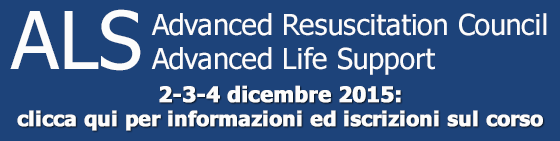 ALS ( Advanced Resuscitation Council - Advanced Life Support) - 2015